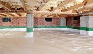 crawl space waterproofing with Atmox system
