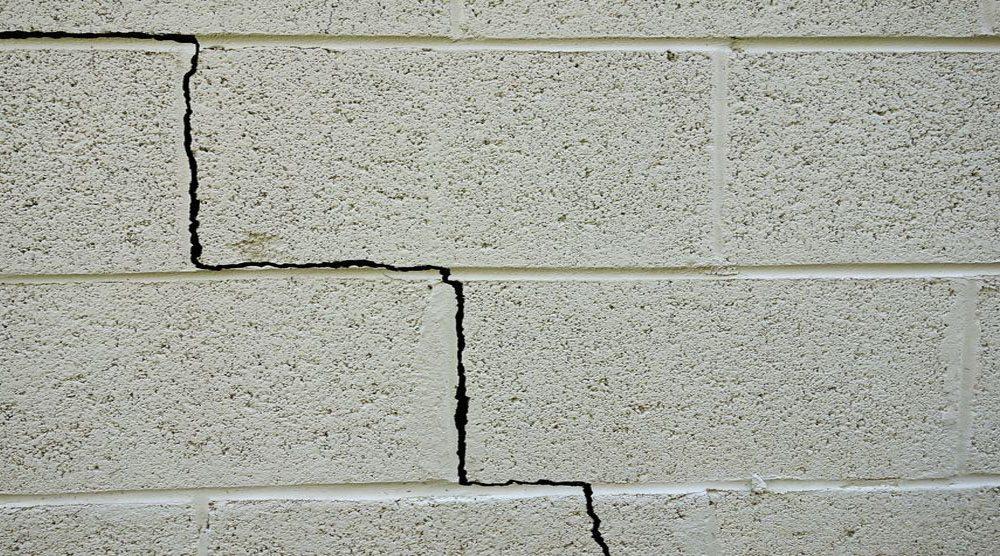 Basement Cement Block Wall Crack