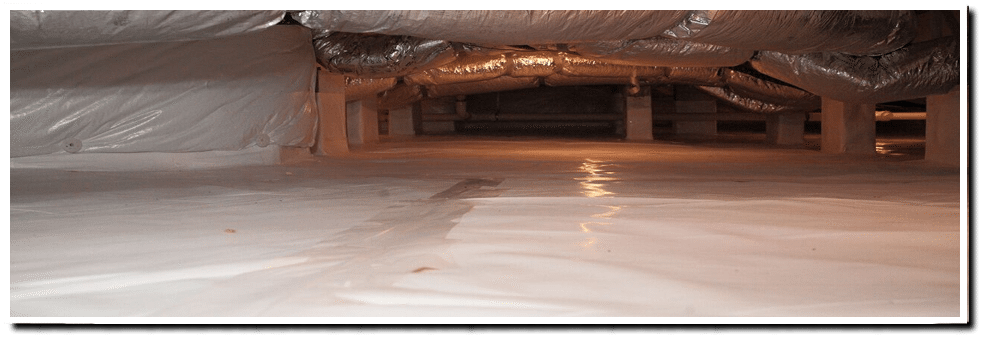 Crawl space repair piedmont foundation repair 704 for Crawl space plumbing