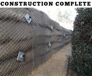 Retaining Wall Repair - Completed